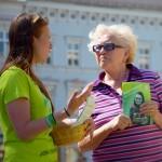 Prostějovští zelení oslovili stovky voličů